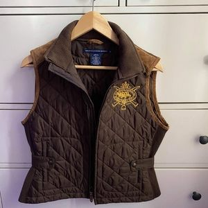 Ralph Lauren Women Vest